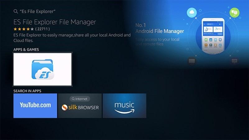 XPlayer for Firestick with ES FileE xplorer
